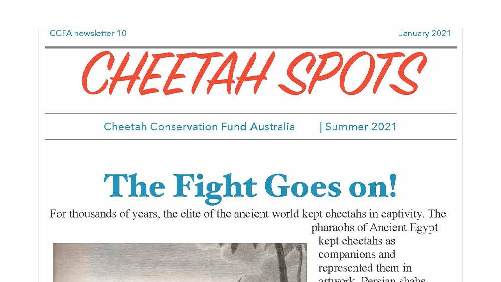 Cheetah Spots – Issue 10