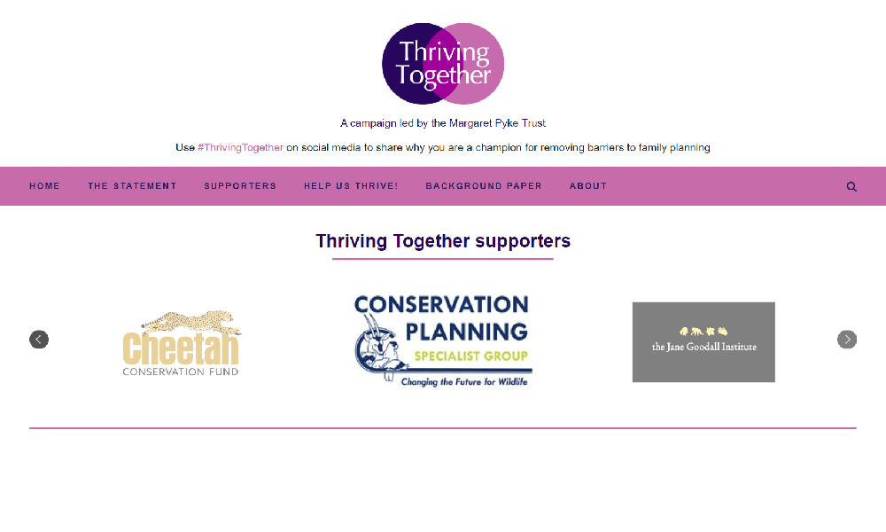 CCF Joins Thriving Together Campaign