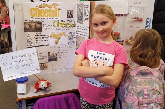 Children are Stepping Up and Helping to Save the Cheetahs!