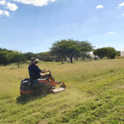 New Lawnmower at CCF