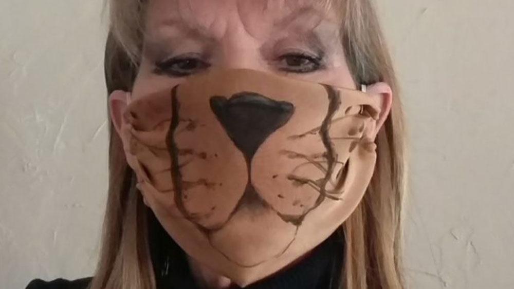Fashionable Cheetah Mask by Jordan
