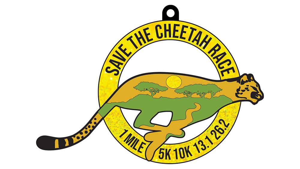 Save The Cheetah Virtual Race: Medal Contest Winner, Runners Up, And How You Can Sign Up