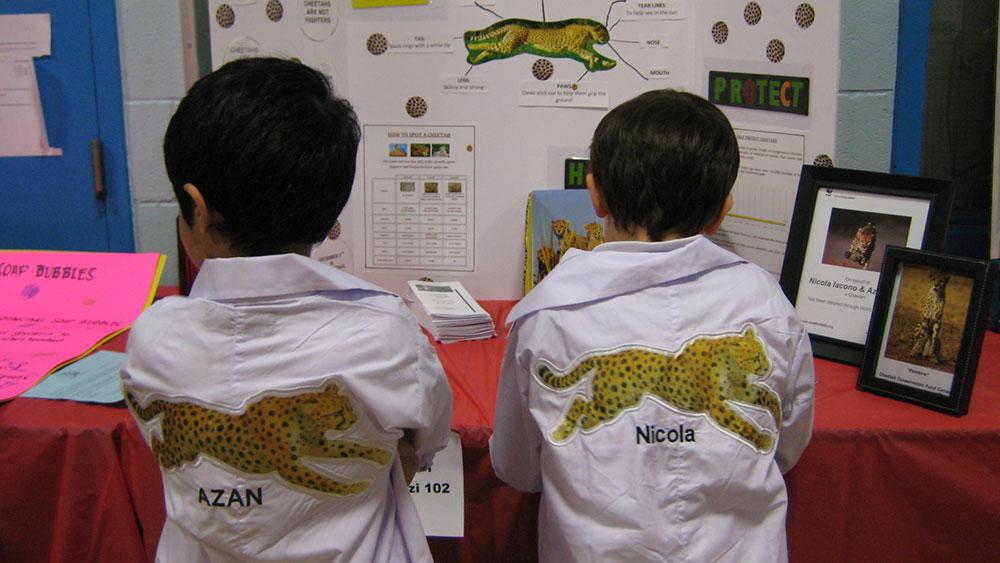 Littlest Cheetah Scientists