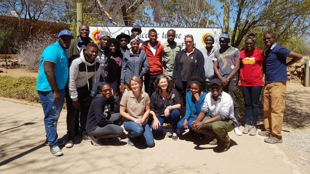 UNAM Katima campus students visit CCF