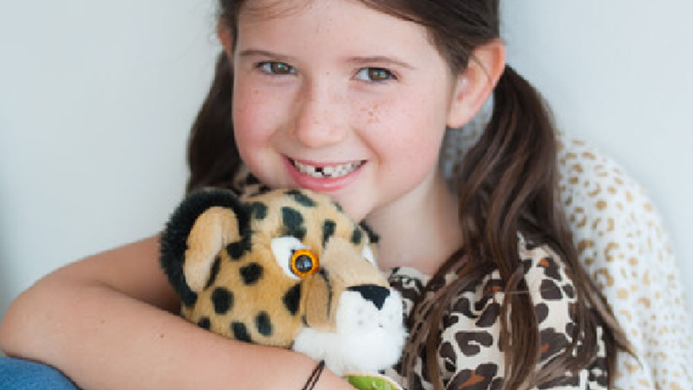 Evie's Efforts Are for the Cheetah