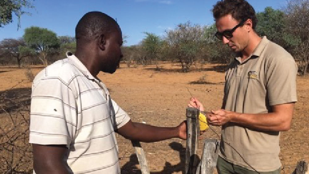 Working with Namibian farmers to test possible mitigation methods for Human-Wildlife conflict