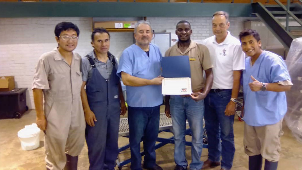 CCF Works With American Institute for Goat Research at Langston University