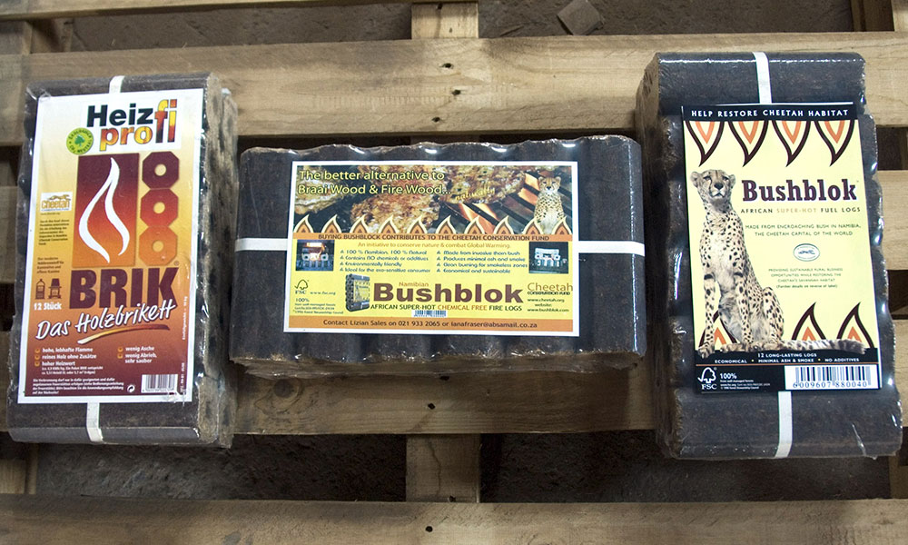 Habitat Loss - Bushblok Fuel Logs