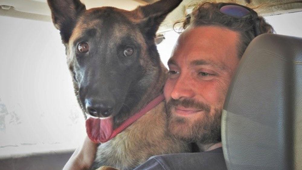 CCF's Scat Detection Dog Team Visits Angola