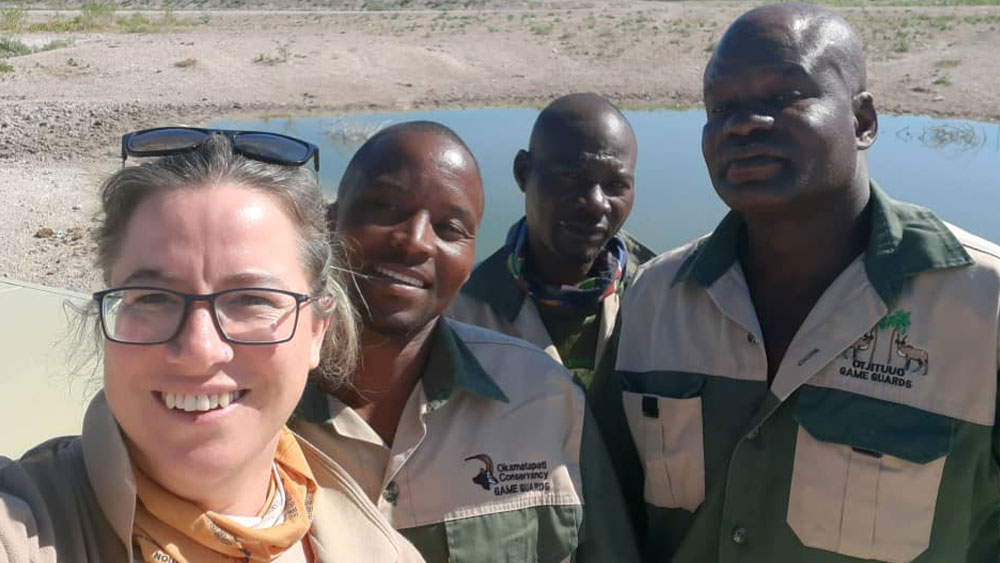 CCF's Human-Wildlife Conflict Field Team is Back in Action