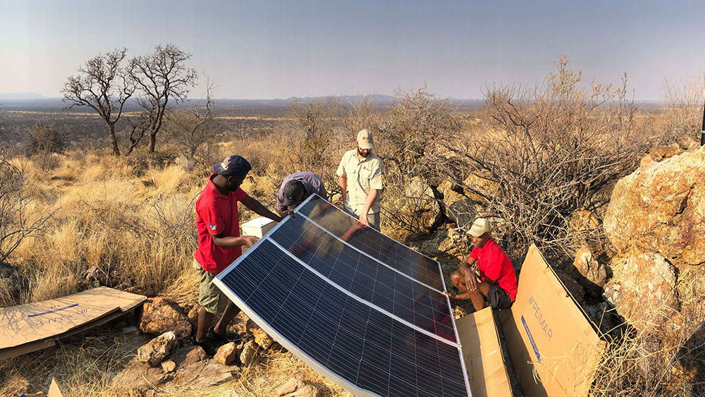 Smart Parks Establishes World's First Cheetah Smart Park at Cheetah Conservation Fund Centre