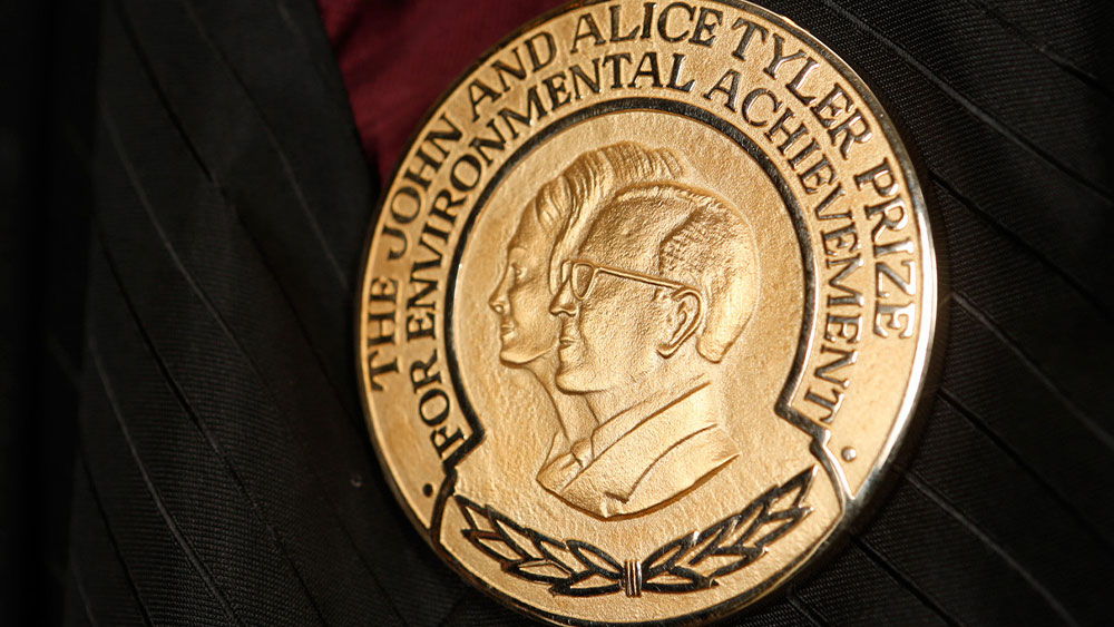 One more Award for CCF: the 2010 Tyler Prize for Environmental Achievement