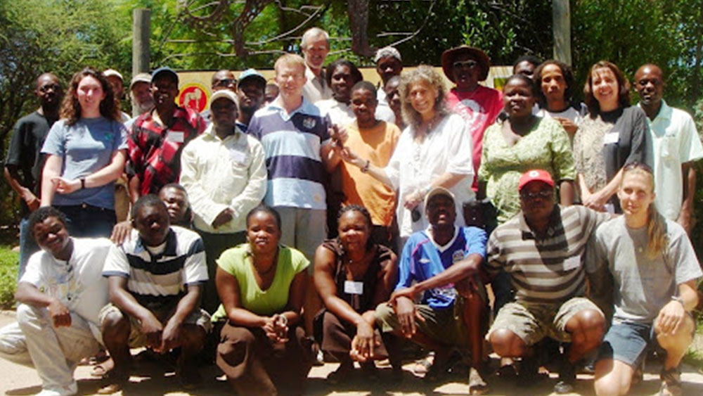International Conservationists attend courses at the Cheetah Conservation Fund